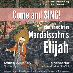 Come and Sing choruses from Mendelssohn's Elijah