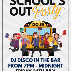 Schools Out For Summer! Disco at Bridgtown Social Club