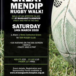 Great Mendip Rugby Walk 2020