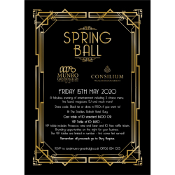 Munro Greenhalgh Spring Ball in aid of Bury Hospice