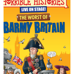 Horrible Histories LIVE on Stage @ Harvey Hall, St Swithun's School, Winchester