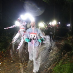 The Skeleton Run, 5 Mile Night Trail Run, Leicestershire 2020