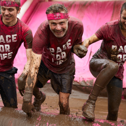 Swansea Pretty Muddy & Pretty Muddy Kids Cancer Research UK