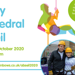 Derby Cathedral Abseil