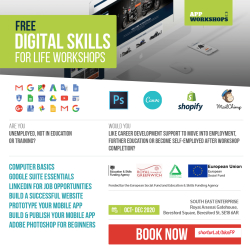 Digital Skills For Life (Free Computer Skills Workshops)