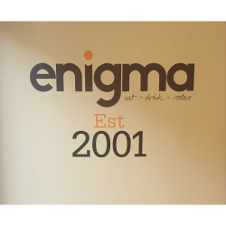 (Refurbished) ENIGMA RE-OPENS FOR BUSINESS!