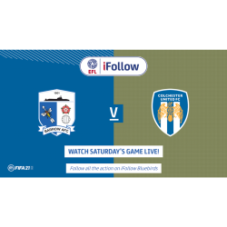 Barrow AFC vs Colchester United FC