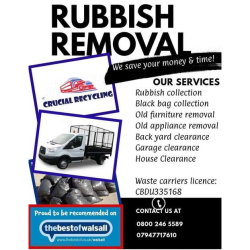 Rubbish Removal at Crucial Recycling
