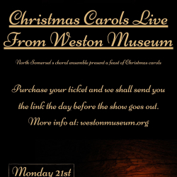 Christmas Carols Live From Weston Museum