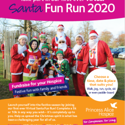 Virtual Santa Fun Run