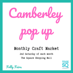 Pop up indoor craft market