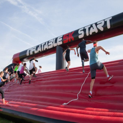 Inflatable 5k Obstacle Course Run - London
