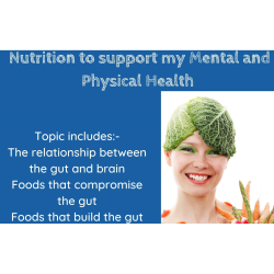Nutrition to support Mental & Physical Health with Work Stress Solutions –Epsom & Ewell Employment and Skills Initiative