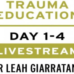 Practical trauma informed interventions with Dr Leah Giarratano on 22-23 and 29-30 Sept - Edinburgh