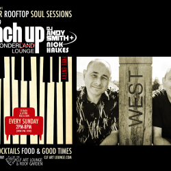 Armchair Rooftop Soul Sessions - Reach Up Disco Wonder Lounge with DJ Andy Smith and Nick Halkes