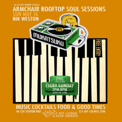 Armchair Rooftop Soul Sessions - Mukatsuku Records Session with Nik Weston