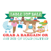 Griffin Park Community Centre Tabletop sale