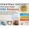 Free Upcycling Workshop-Turn your trash into treasures!