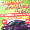 Win a car at Gala Bingo.