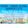 Friends of Priory Junior School Summer Fete ** THIS FRIDAY **