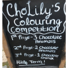 ChoLily's Half Term Colouring Competition