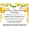 Craft Fair with Nonsuch Craft Group at Bourne Hall #Ewell