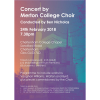 Concert by Merton College Choir