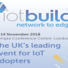 IoTBuild: Network to Edge, 13-14 November 2018, London, UK