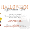 Halloween Afternoon Tea at Leonardslee House