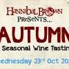 AUTUMN - a seasonal wine tasting and canapé pairing