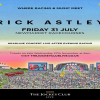 Rick Astley live at Newmarket Racecourses on Friday 31st July 2020