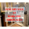 Save £100's in the January Sale at Mark One Fireplaces