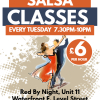 Dudley Beginners Salsa Classes