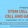 14th World Congress on Stem Cell Research, Cell and Gene Therapy