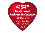 Best loved Business (In Category) 2011
