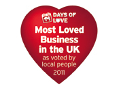 Best loved Business (Top 100) 2011