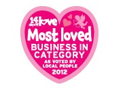 Best loved Business (In Category) 2012