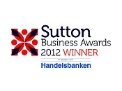 Sutton Business Awards 2012 Winner