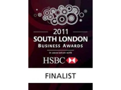South London Business Awards 2011 Finalist