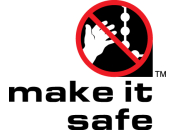 "Proud backers of the ""make it safe"" campaign."