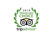 Trip Advisor Travellers Choice Award 2014