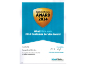Whatclinic.com Customer Excellence Award 2014