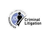 Accredited with Law Society-Criminal Litigation
