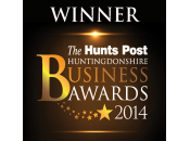 Hunts Business Awards Winner 2014