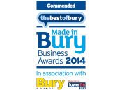 Commended - Made in Bury Business Awards 2014