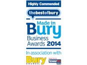 Highly Commended Made in Bury Business Awards 2014