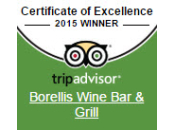 tripadvisor Cerificate of Excellence 2015 Winner