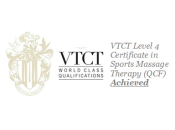 VTCT Level 4 Certificate in Sports Massage Therapy