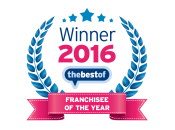 The Best Of Franchisee of 2016 WINNER