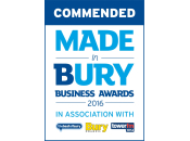 Commended - Made in Bury Business Awards 2016